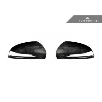 Autotecknic Trockencarbon Ersatz-Spiegelkappen für Mercedes Benz C-Klasse|E-Klasse|S-Klasse W205|W213|W222