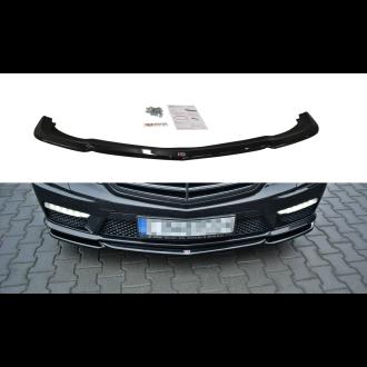 Maxton Design Frontlippe für Mercedes E-Klasse W212 E63 AMG Carbon Look