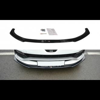 Maxton Design Frontlippe für Renault Clio MK4 RS schwarz hochglanz