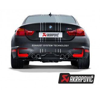 Akrapovic Rear Carbon fiber Diffusor für M3 (F80)