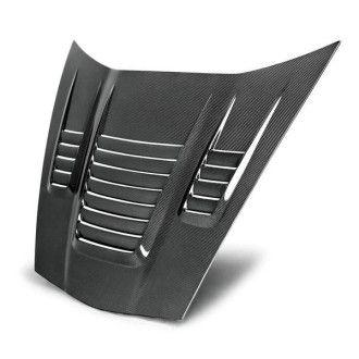 Anderson Composites Carbon Motorhaube mit Lufteinlässen für Chevrolet Corvette C6 2005-2013