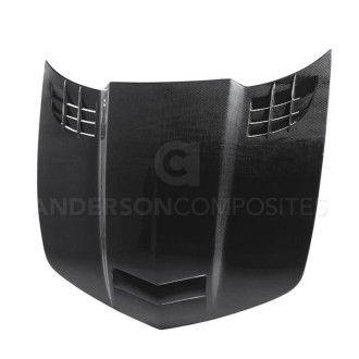 Anderson Composites Carbon Motorhaube Type-TTII für Chevrolet Camaro 2010-2015