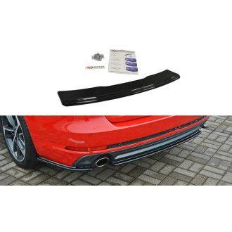 Maxton Design Diffusor für Audi A4 B9 S-Line Kombi Carbon Look