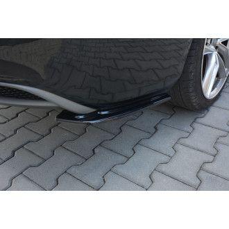 Maxton Design Diffusor-Erweiterungen für Audi A5 8T S-Line Facelift schwarz hochglanz