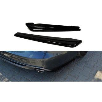 Maxton Design Diffusor-Erweiterungen für Audi A6 C7 S-Line Kombi schwarz hochglanz