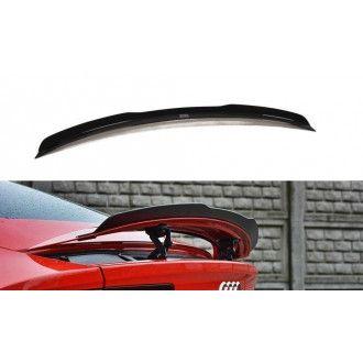 Maxton Design Spoiler für Audi A7 C7 S-Line Facelift schwarz hochglanz