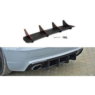 Maxton Design Heck/Stoßstange für Audi A3 8V RS3 unbearbeitet zur Lackierung