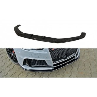 Maxton Design Frontlippe für Audi 8V RS3 Carbon Look
