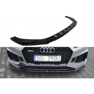 Maxton Design Frontlippe für Audi A5 F5 RS5 Coupe schwarz hochglanz