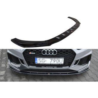 Maxton Design Frontlippe für Audi F5 RS5 Coupe schwarz hochglanz