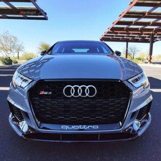 Automotive Passion AP ABS Frontlippe für Audi 8V RS3 schwarz hochglanz