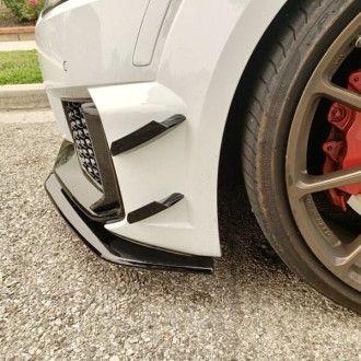 Automotive Passion AP ABS schwarz glänzend Canards für Audi 8S TTRS