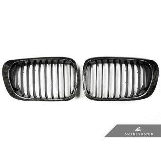 AutoTecknic Carbon Kühlergrill für E46 Coupe Vorfacelift