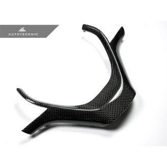 AutoTecknic Carbon Lenkrad-Dekorblende - F20 / F21 / F30 / F31 3er Sport Rad (Nicht für 320i & und M-Paket)