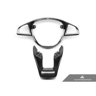 AutoTecknic Carbon-Lenkrad-Dekorblende - Mercedes Benz W205 (verschiedene Fahrzeuge)