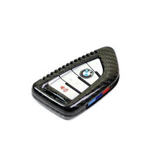AutoTecknic Carbon Schlüssel Cover für BMW F39 X2 | F15 X5 | F85 X5M | F16 X6 | F86 X6M | G30