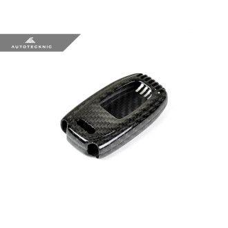 AutoTecknic Dry Carbon Schlüssel Cover für Audi Fahrzeuge 2009-2016