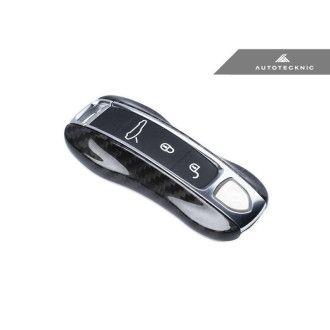 AutoTecknic Dry Carbon Schlüssel Cover für Porsche Panamera 17+ | Cayenne 18+