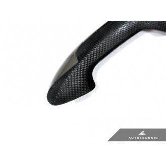 AutoTecknic Dry Carbon Türgriffverkleidunge für BMW F10 5er inklusive M5 | F06/F12/F13 6er inklusive M6 | F01 7er LHD 2-Türer Coupé