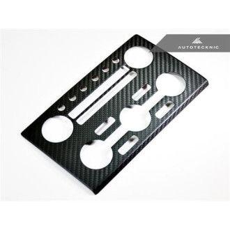 AutoTecknic Dry Pre-Preg Carbon AC Stereo Dash Panel Cover für Nissan R35 GTR