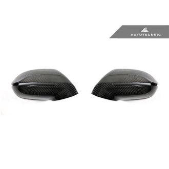 AutoTecknic Ersatz Carbon Spiegelkappen für Audi A7 S7 RS7 (ohne Seitenassistent) 2012+
