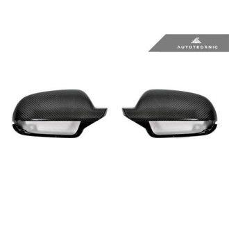 AutoTecknic Ersatz Carbon Spiegelkappen für Audi B9 A4/S4 | A5/S5 ohne Side Assist