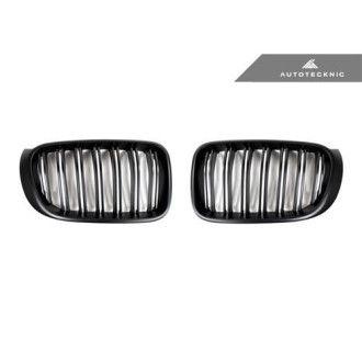 AutoTecknic Ersatzkühlergrill Glazing Black für F25 X3 | F26 X4