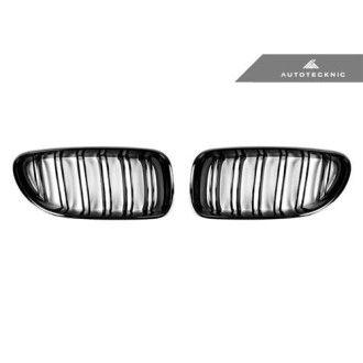 AutoTecknic Glazing Black Doppellamellen Kühlergrill für F12/F13 6er
