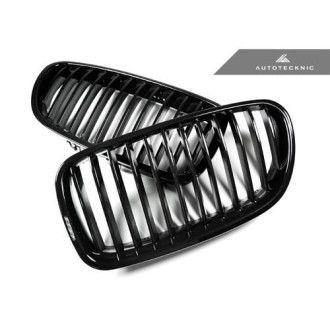 AutoTecknic Glazing Black Kühlergrill für F10 5er auch M5