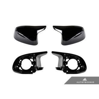 Autotecknic X5M/X6M-Look Retrofit Spiegelkappen für BMW X5|X6|X7 G05|G06|G07 lackiert