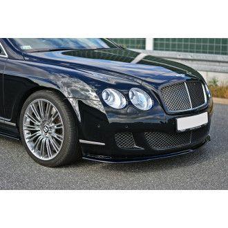 Maxton Design Frontlippe für Bentley Continental GT schwarz strukturiert unbearbeitet