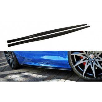 Maxton Design Seitenschweller für BMW 1er F20|F21 Facelift schwarz hochglanz