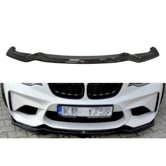 Maxton Design Frontlippe für BMW 2er F87 M2 Coupe Carbon Look