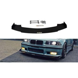 Maxton Design Racing-Frontlippe für BMW 3er E36 M3 Coupe schwarz unbearbeitet