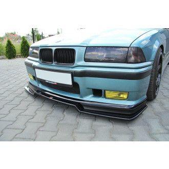 Maxton Design Frontlippe für BMW 3er E36 M3 Coupe schwarz strukturiert unbearbeitet