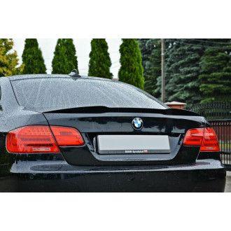 Maxton Design Spoiler für BMW 3er E92 M-Paket schwarz hochglanz