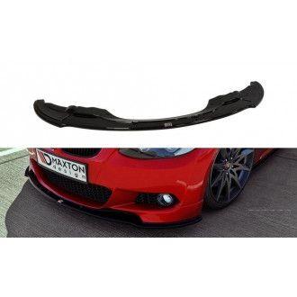 Maxton Design Frontlippe für BMW 3er E92 M-Paket Vorfacelift schwarz hochglanz