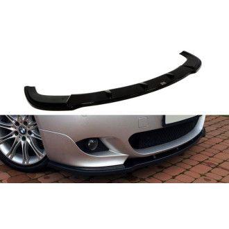 Maxton Design Frontlippe für BMW 5er E60 M-Paket schwarz strukturiert unbearbeitet