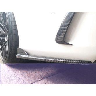 Boca Carbon Diffusor Erweiterungen Mercurie für Mercedes Benz C-Klasse W205 C200|C250|C300|C43 AMG|C63 AMG|C63S AMG Limousine nur AMG-Paket