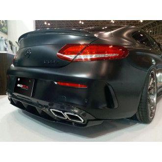 Boca Carbon Diffusor für Mercedes C-Klasse C205 C200|C250|C300 AMG Paket C43 AMG|C63(S) AMG Coupe Vorfacelift - ähnlich Edition 1