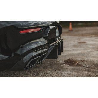 Boca Carbon Diffusor für Mercedes C-Klasse C205 C200|C250|C300 AMG Paket C43 AMG|C63(S) AMG Coupe Vorfacelift - Aggressive-Style