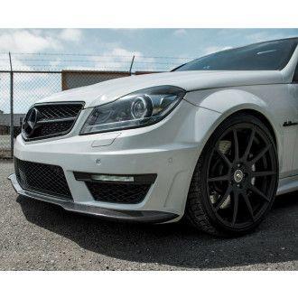 BOCA Carbon Frontlippe für Mercedes Benz W204|C204 C63 AMG Limo & Coupé Facelift - Black Series Style