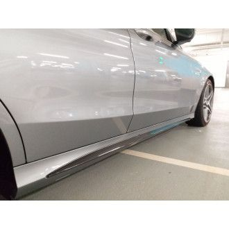 Boca Carbon Seitenschweller Edition 1 Style für Mercedes Benz C-Klasse W205|C205 C200|C250|C300|C43 AMG|C63 AMG|C63S AMG Limousine|Kombi nur AMG-Paket