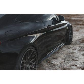 Boca Carbon Seitenschweller Edition 1-Style für Mercedes Benz C-Klasse C205 C200|C250|C300|C43 AMG|C63 AMG|C63S AMG Coupe nur AMG-Paket