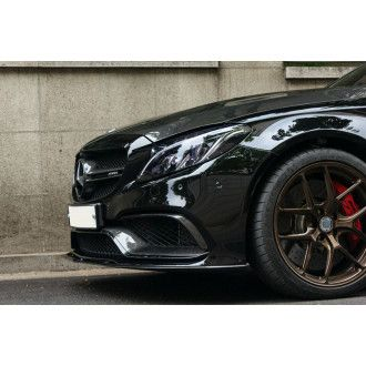 Boca Carbon Frontlippe Edition 1 Style für Mercedes Benz C-Klasse W205 C63 AMG|C63S AMG Limousine|Kombi Vorfacelift
