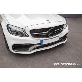 Boca Carbon Front-Einsatz 3-teilig Edition 1 Style für Mercedes Benz C-Klasse W205 C63 AMG|C63S AMG Vorfacelift