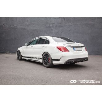 Boca Carbon Diffusor OEM-Style für Mercedes Benz C-Klasse W205|S205 C200|C250|C300|C43 AMG|C63 AMG|C63S AMG Limo|Kombi nur AMG-Paket