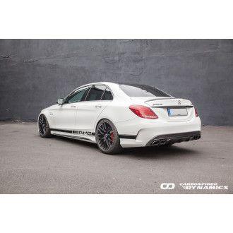 Boca Carbon Diffusor OEM-Style für Mercedes Benz C-Klasse W205|C205|S205 C200|C250|C300|C43 AMG|C63 AMG|C63S AMG nur AMG-Paket