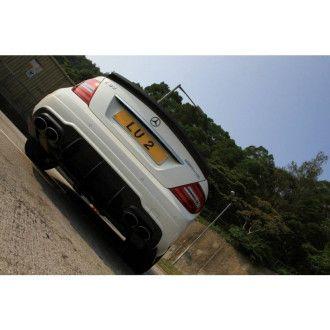 Boca Carbon Diffusor Racespec für Mercedes Benz C-Klasse W204 C200|C250|C300|C63 AMG|C63S AMG  nur AMG-Paket
