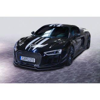 Capristo Carbon Frontlippe fuer Audi R8 V10